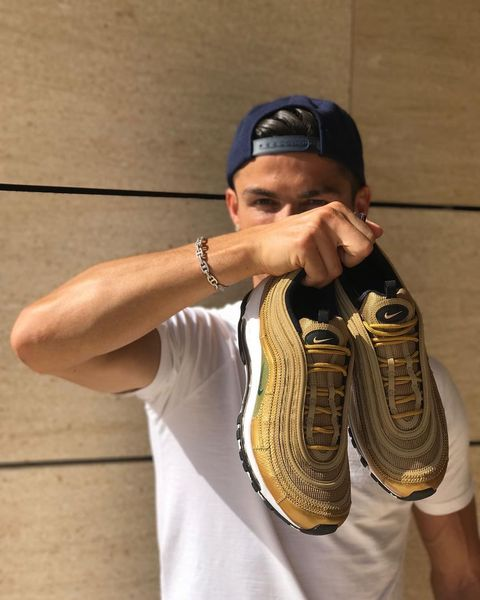 on sale c824d e79c4 Cristiano Ronaldo s New Signature Trainer Is Absolutely Peak Ronaldo