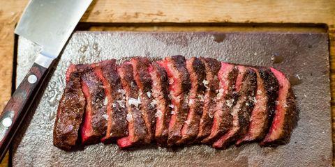 Dish, Flat iron steak, Food, Cuisine, Pastrami, Pork loin, Rinderbraten, Beef tenderloin, Sirloin steak, Beef,