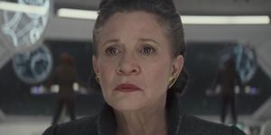 General Leia Organa in Star Wars: The Last Jedi