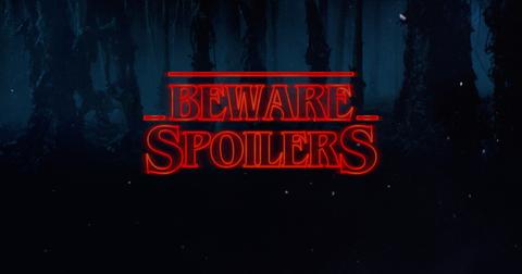 spoilers stranger things