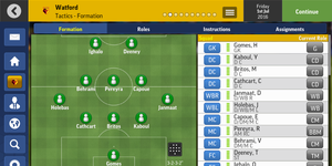 Football Manager, gameplay