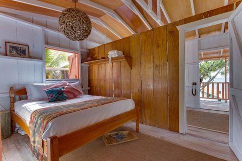 Bedroom, Room, Furniture, Bed, Property, Interior design, Bed sheet, Building, Ceiling, Bedding,