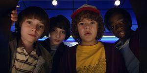 Stranger Things, Season 2, Will, Mike, Dustin, Lucas