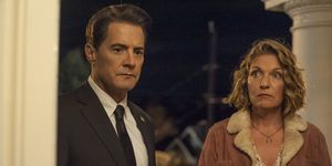 Twin Peaks: The Return - Kyle MacLachlan as Dale Cooper and Sheryl Lee as Carrie Page