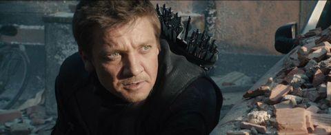 Jeremy Renner Hawkeye Avengers: Age of Ultron