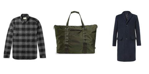 Clothing, Bag, Product, Tartan, Plaid, Outerwear, Pattern, Design, Jacket, Sleeve,
