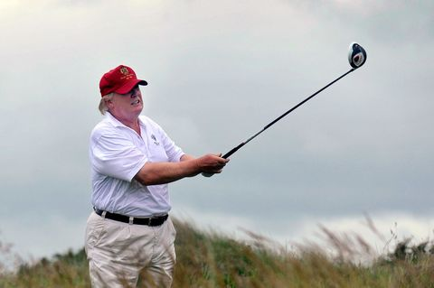 Donald Trump Has Spent Three Times As Long On The Golf Course As Obama