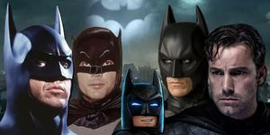 Ben Affleck, Christian Bale, Adam West, Michael Keaton, Batman