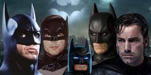 Ben Affleck, Christian Bale, Adam West, Michael Keaton, Batman