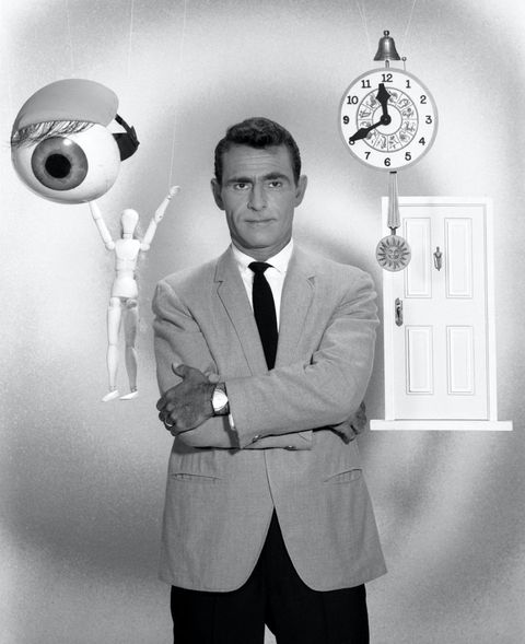 Rod Serling, host of the The Twilight Zone