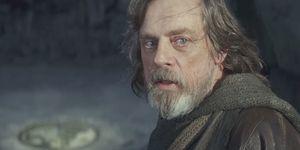 Luke Skywalker in Star Wars: The Last Jedi