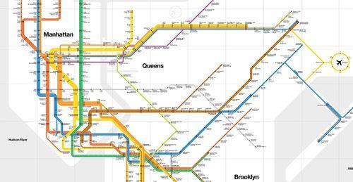 limited edition massimo vignelli 1972 new york subway map