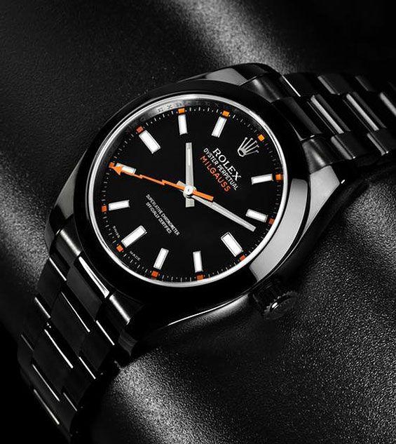 bamford-watch-department-rolex-milgauss-black