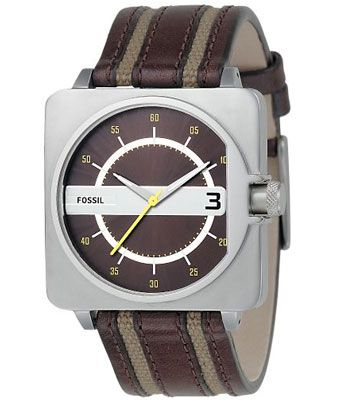 fossil-analog-brown-dial