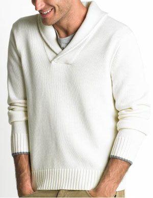 banan_republic_merino_shawl_neck_sweater