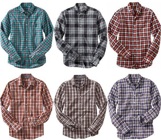 gap_fall_2009_plaid_shirts1