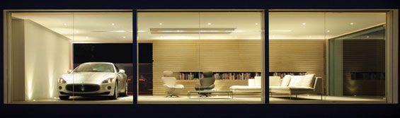 maserati-architectural-digest-garage-night