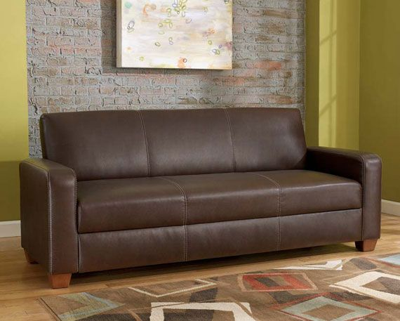 Ashley Furniture Mia Bark Flip Flop Sofa Gear Patrol
