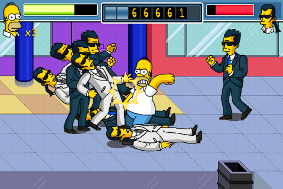 thesimpsonsarcade_iphone_1
