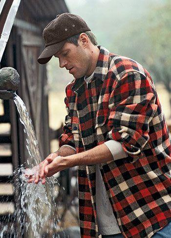 Woolrich buffalo check flannel wool shirt gear patrol for 9 oz flannel shirt