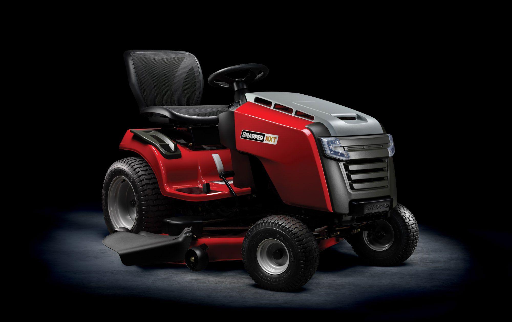 Snapper Mower Seat : Bmw designworks snapper nxt riding mower gear patrol