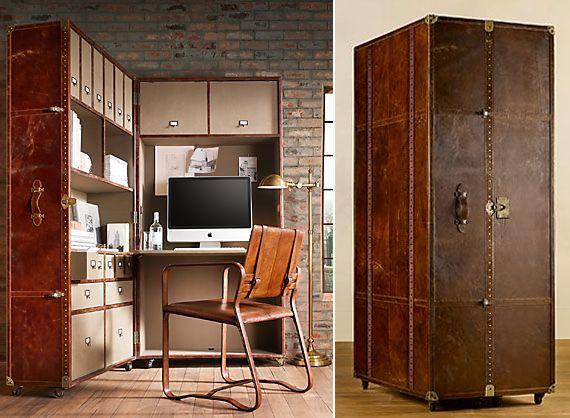 mayfair-steamer-secretary-trunk-vintage-cigar-leather