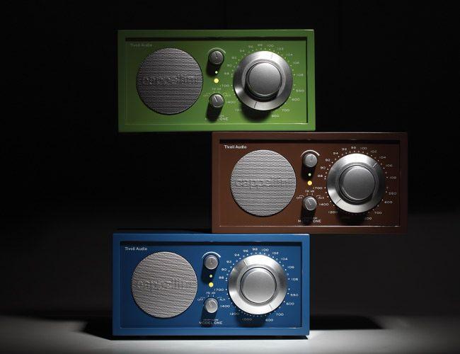 tivoli audio cappellini model one radio gear patrol. Black Bedroom Furniture Sets. Home Design Ideas
