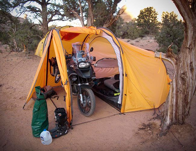 Tenere Motorcycle Expedition Tent Gear Patrol