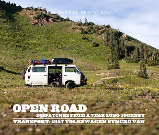 Open Road | A Year Long Journey in the 1987 Volkswagen