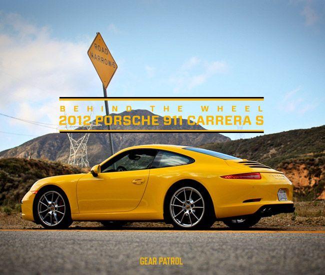 behind the wheel 2012 porsche 911 carrera s gear patrol. Black Bedroom Furniture Sets. Home Design Ideas