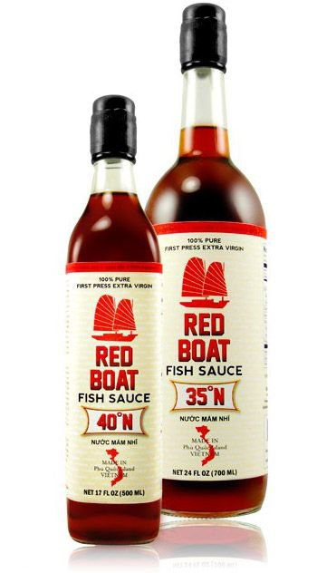 Red boat fish sauce gear patrol for Red fish sauce