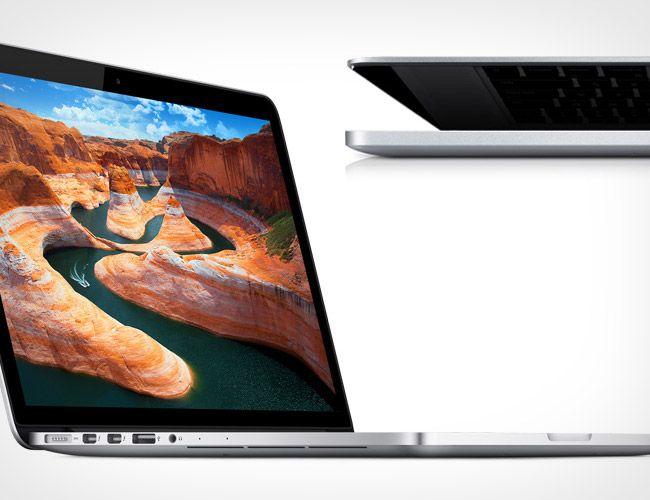 Macbook pro với hình ảnh sắc nét