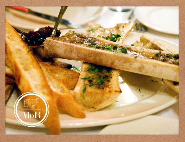 Roasted Bone Marrow Recipe Roasted bone marrow with