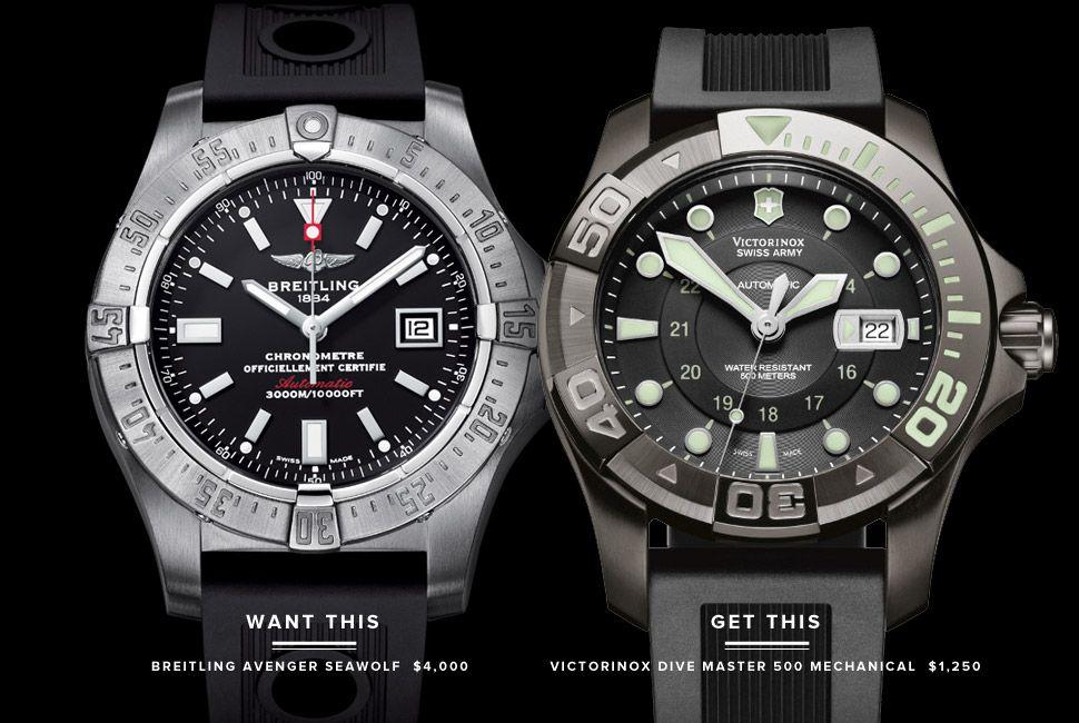 Breitling Avenger Seawolf Vs Victorinox Dive Master 500
