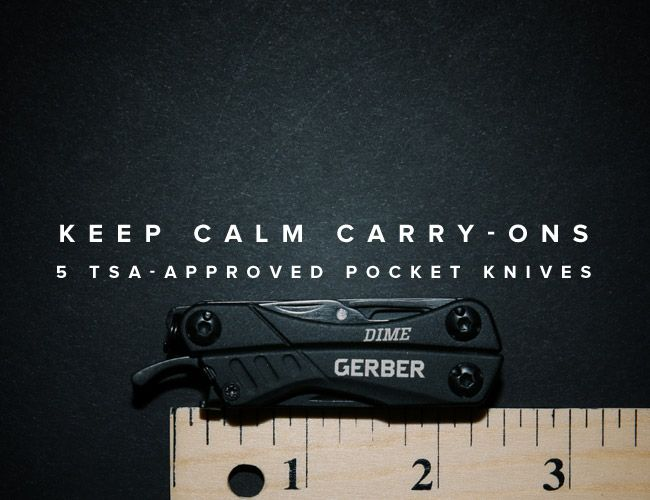 5 Best Tsa Approved Pocket Knives Gear Patrol