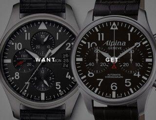 iwc-flieger-chronograph-alpina-startimer-chronograph-gear-patrol