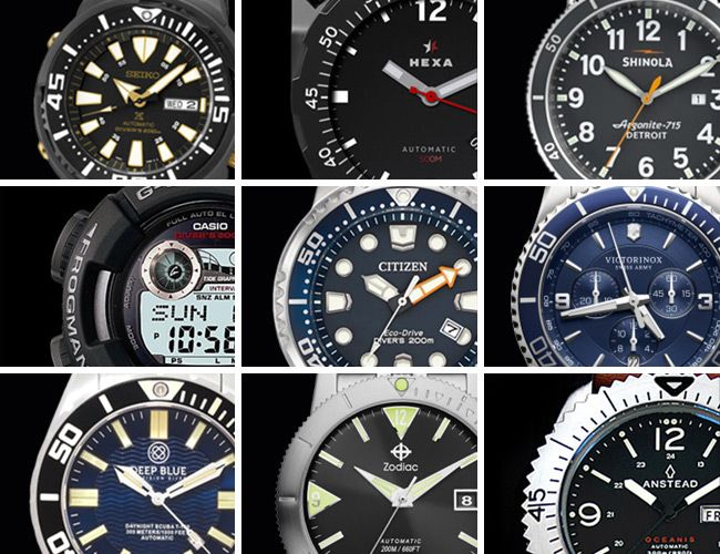 Dive Watches that Won't Sink Your Treasure Chest