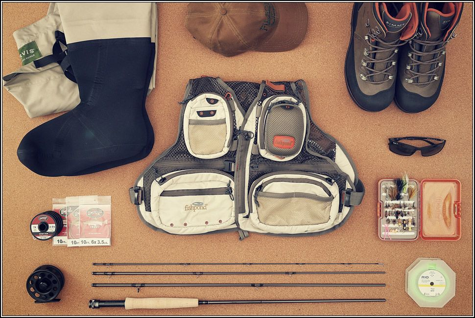 Fly fishing essentials gear patrol for Fishing starter kit