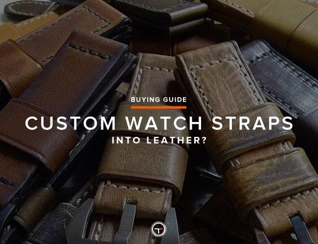 Best Custom Watch Straps • Gear Patrol
