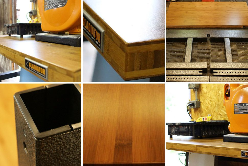 Groovy Review Gladiator Garageworks Adjustable Workbench Gear Patrol Uwap Interior Chair Design Uwaporg