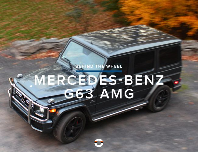 2013 mercedes benz g63 amg gear patrol for 2013 mercedes benz g63 amg price