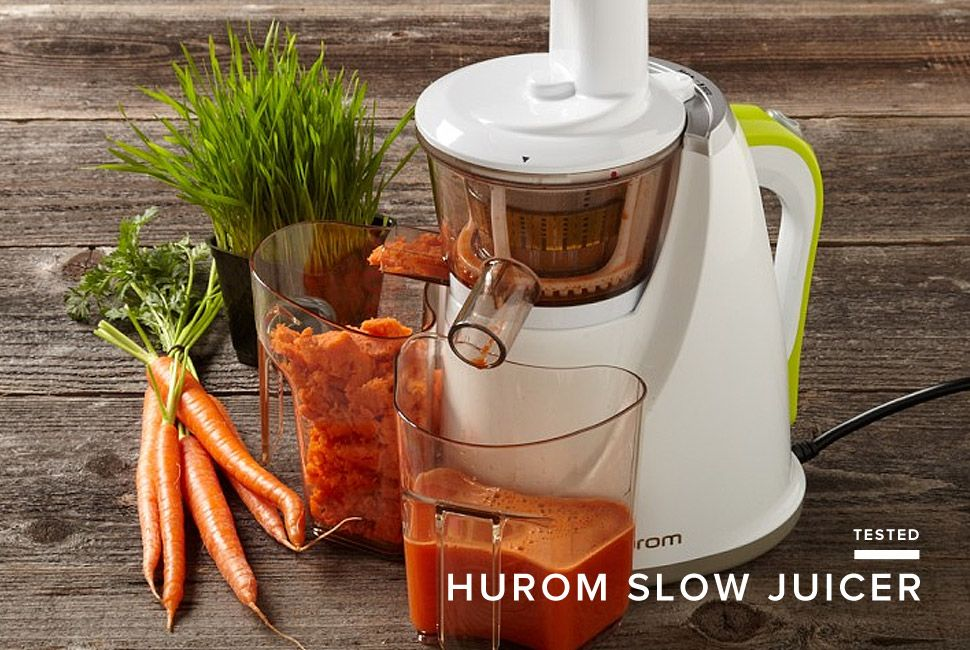 Hurom Slow Juicer Menu : Review: Hurom HU-100 Slow Juicer