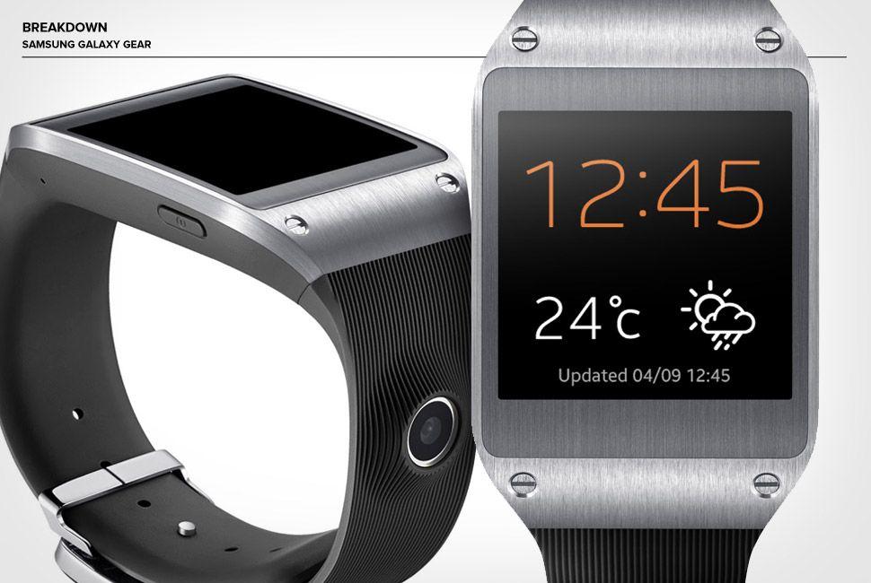 Breakdown: Samsung Galaxy Gear • Gear Patrol