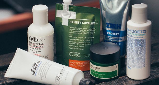 The Best Facial Moisturizers for Men