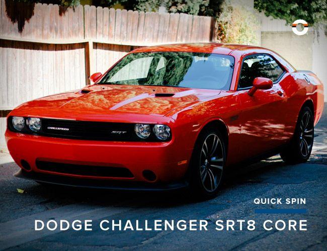 review 2013 dodge challenger srt8 core gear patrol. Black Bedroom Furniture Sets. Home Design Ideas