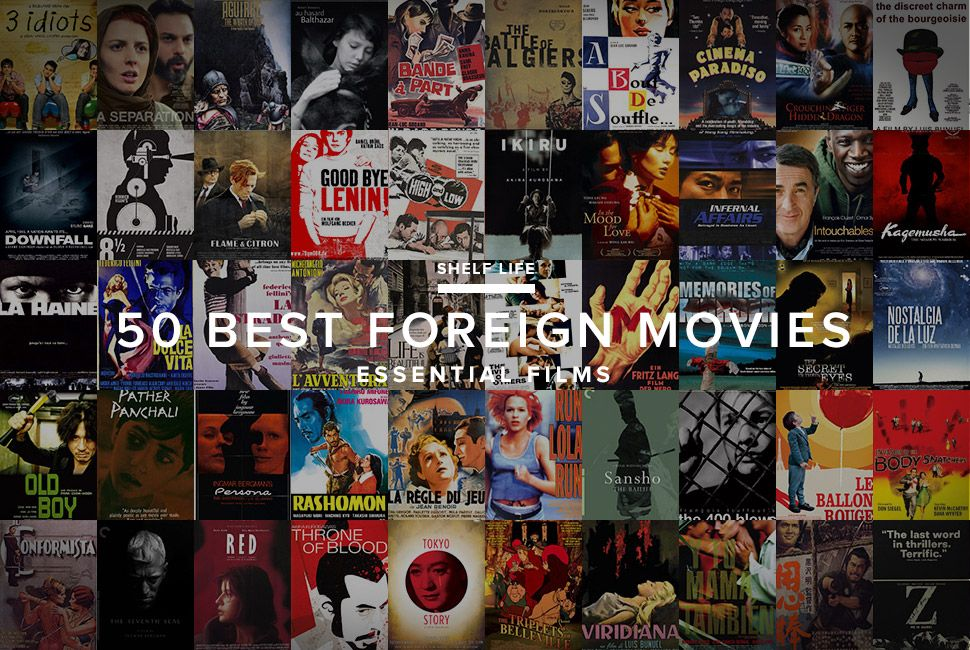 50 Best Foreign Language Movies of All Time - Gear Patrol