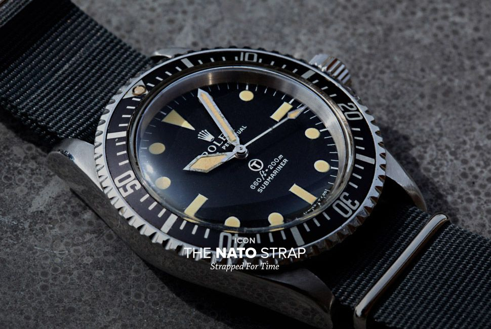 The History of the NATO Watch Strap - Gear Patrol