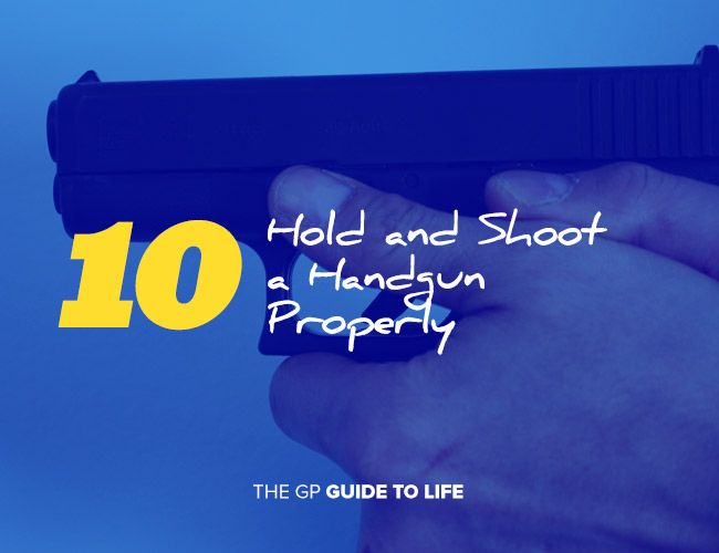 how to clean a handgun properly