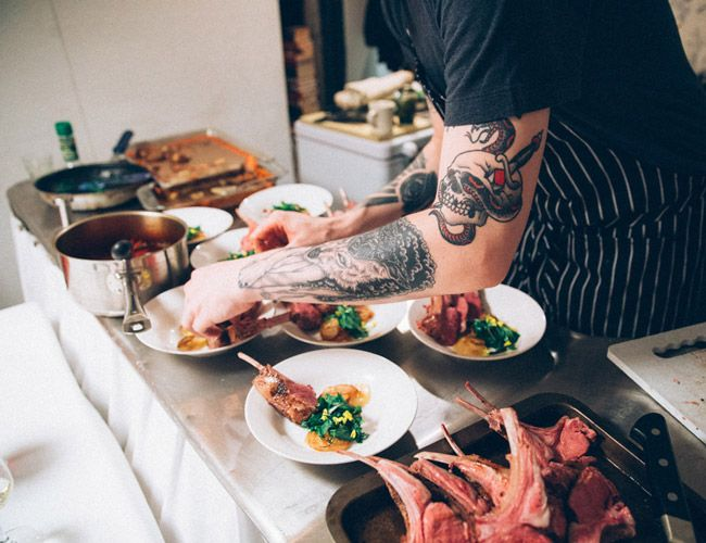 Inside the New American Supper Club
