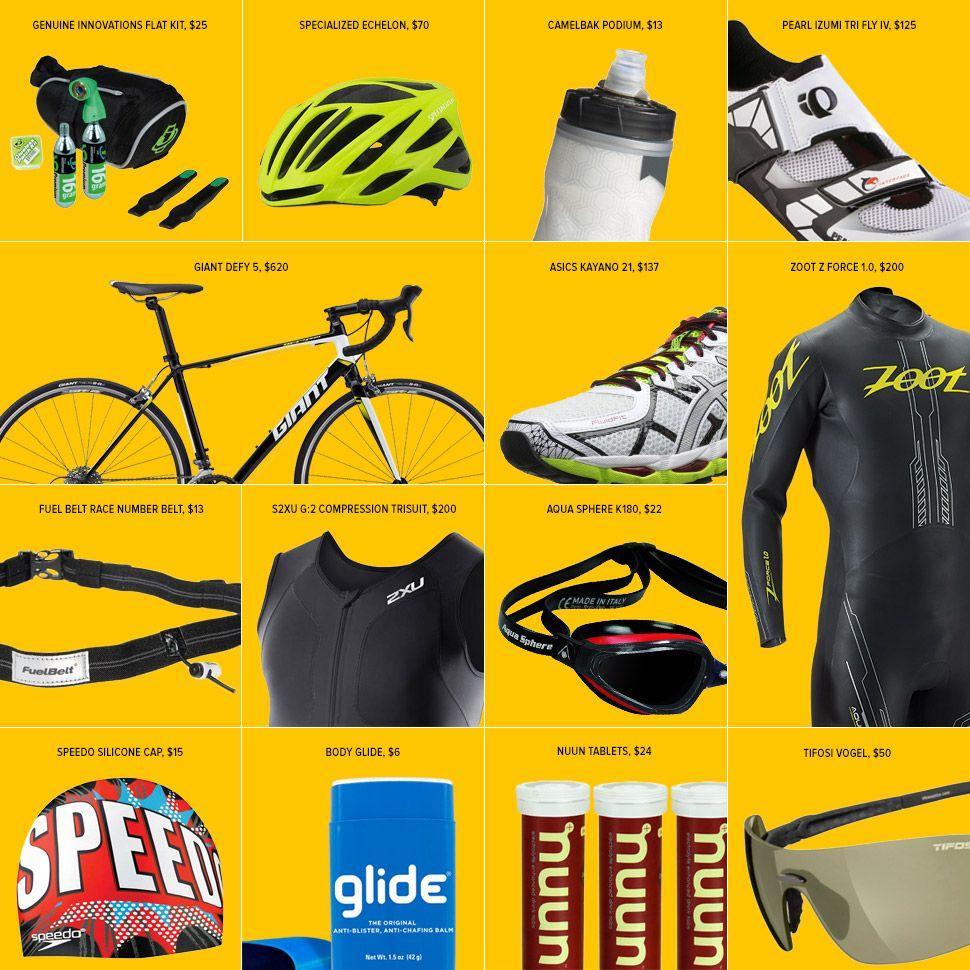 Best Gear for Beginner Triathletes